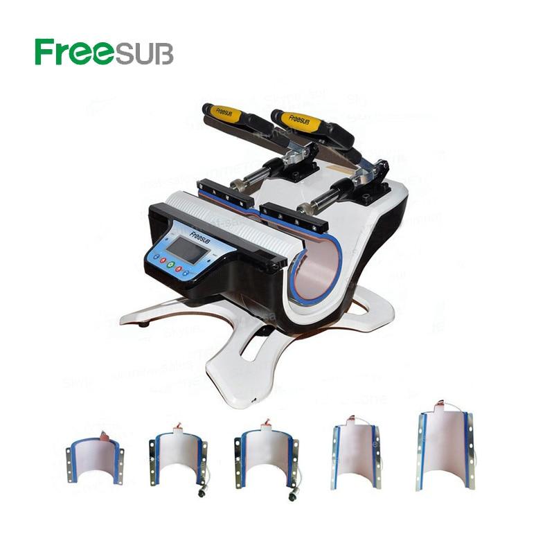 ST 510 машина для сублимационной печати кружек с двойной станцией для 6 унций, 9 унций, 11 унций, 12 унций, 17 унций печать кружек - 2