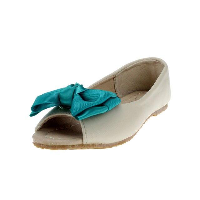 Msmax enfants filles shoes en cuir papillon-noeud poissons bouche enfant  sandales shoes filles robe