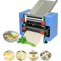 220V Electric Noodles Dumpling Wonton Maker Automatic Stainless Steel Noodle Wonton Skin Dumpling Skin Machine For Commercial