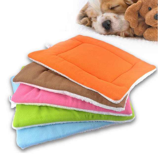 Hot Pet Dog House Bed Mat Canile Grande Morbido Pile Cane letto Coperta Cuscino