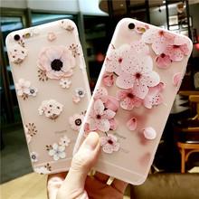 Kwiat skrzynka dla Huawei P20 P30 Pro Honor 8 Lite 8X 8C 8S 9 10 P10 Lite Nova 3 3i Y5 2018 Y9 2019 miękka TPU etui na telefony Coque tanie tanio Ricestate CN (pochodzenie) Pół-owinięte Przypadku 3D Relief Flower Phone Bags Cases Fundas Coqnue P20 Lite