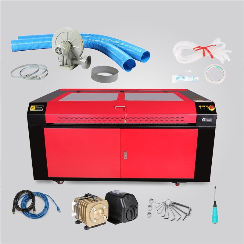 Machine de gravure Laser CNCShop Machine de gravure Laser Co2 graveur Laser 130 W artisanat découpe eau de refroidissement