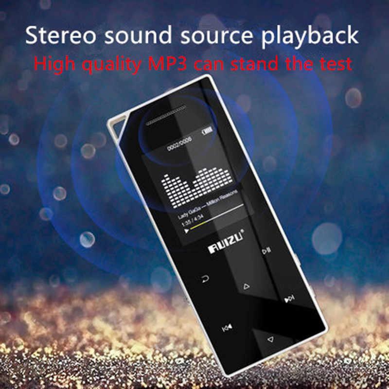 新製品 RUIZU D05 Mp3 bluetooth プレーヤー 8 ギガバイト 16 グラム収納 1.8 インチ画面再生高品質 Fm ラジオ電子書籍音楽 MP3 プレーヤー