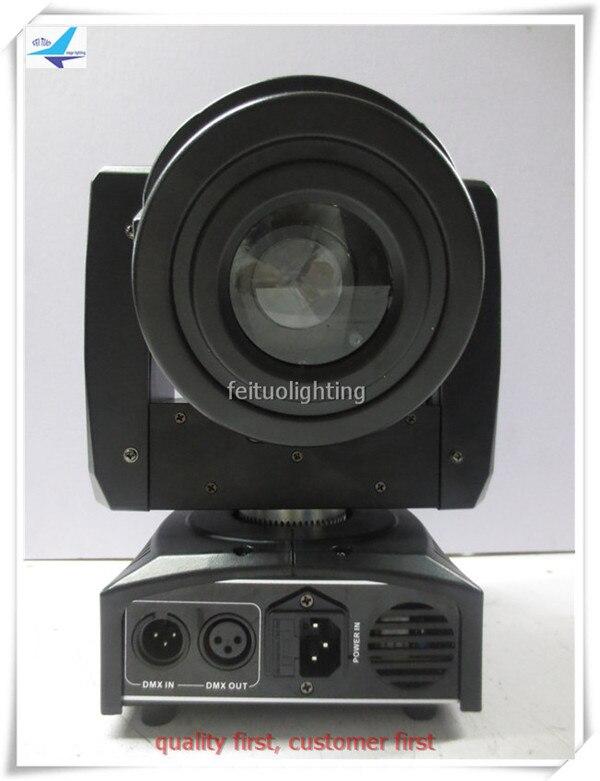10 шт. 60 Вт сценический Светодиодный прожектор движущаяся головка точечная Подвижная головка светодиодный подвижный 60 Вт