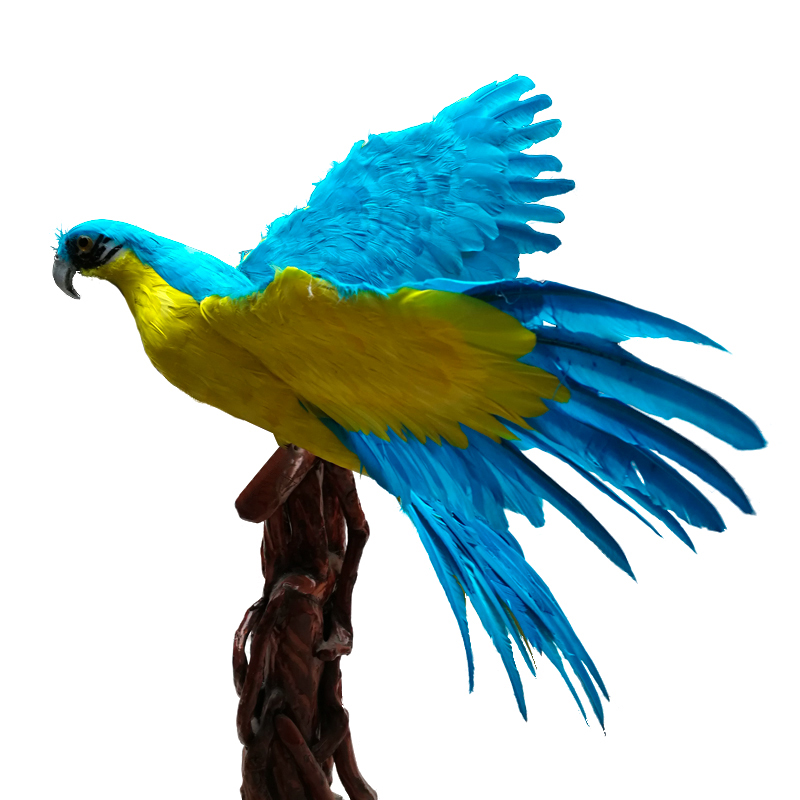 big wings simulation parrot hard model plastic&feather blue&yellow parrot toy gift about 120x65cm s2946big wings simulation parrot hard model plastic&feather blue&yellow parrot toy gift about 120x65cm s2946