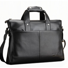2016 New Men Briefcase Top Leather Men's Messenger Shoulder Bag Computer Laptop Handbag Bag Large Business Men's Travel Bags