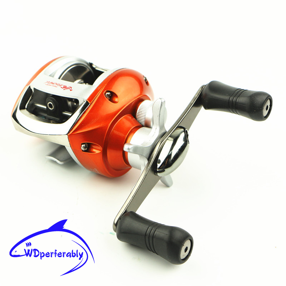Free shipping 9 bearings left right hand bait casting for Casting fishing reels