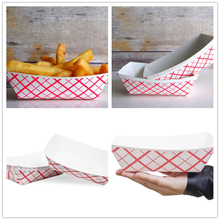 1/4LB 1/2LB LIB 3LB 12PCS Red Plaid Printed Disposable Paper Food Tray Boat Fast Food Tray Containers Picnic Party Supplies cinnamon cider decorative fragrance 1 3lb bag