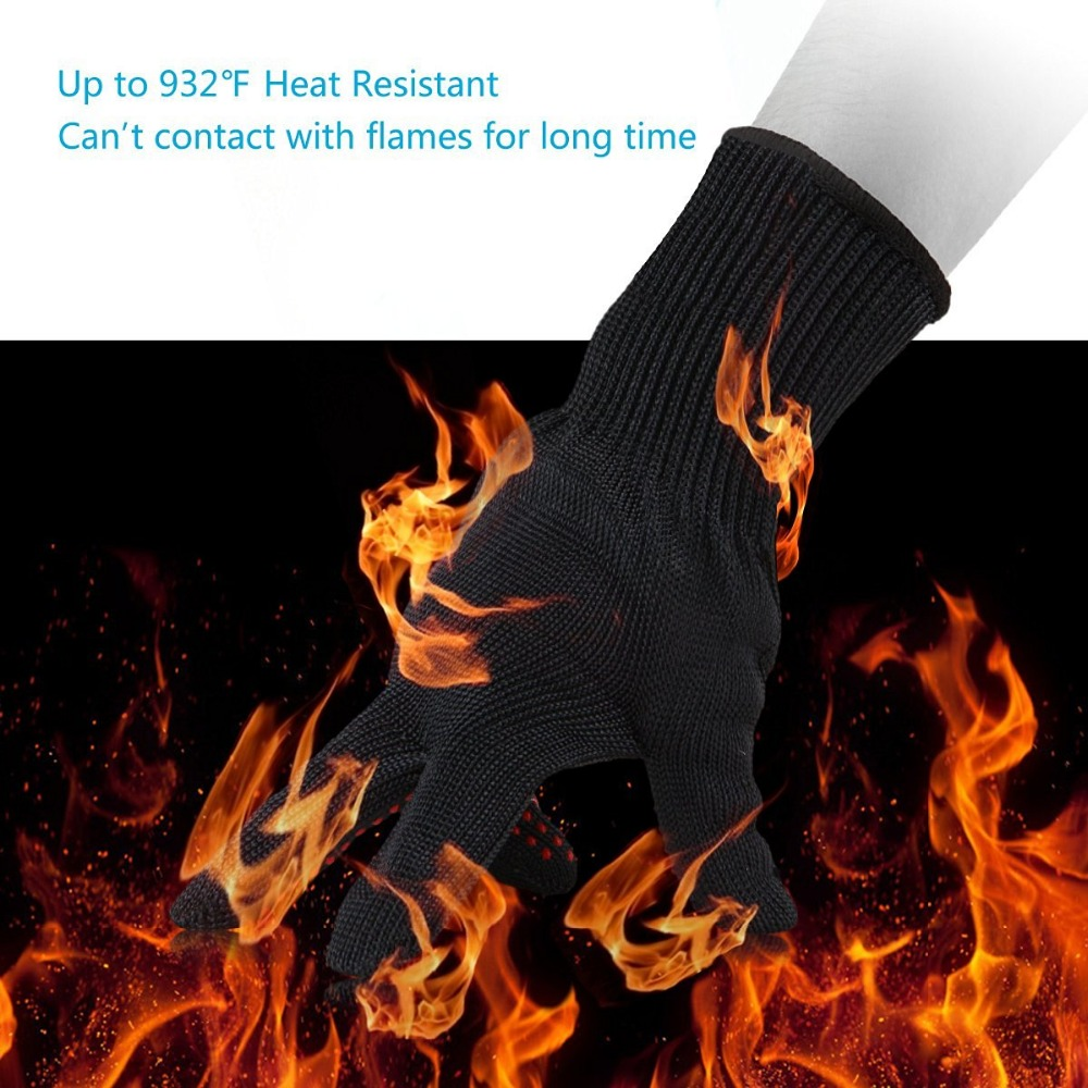 Cut resistant gloves protective gloves 5 self-defense wire cutting prevention work gloves, outdoor climbing tactical gloves.