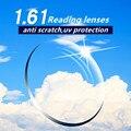 1.61 anti risco qualidade super fino CR39 lentes presbiopia prescrição asférica óculos de leitura lentes de resina lente longe da vista
