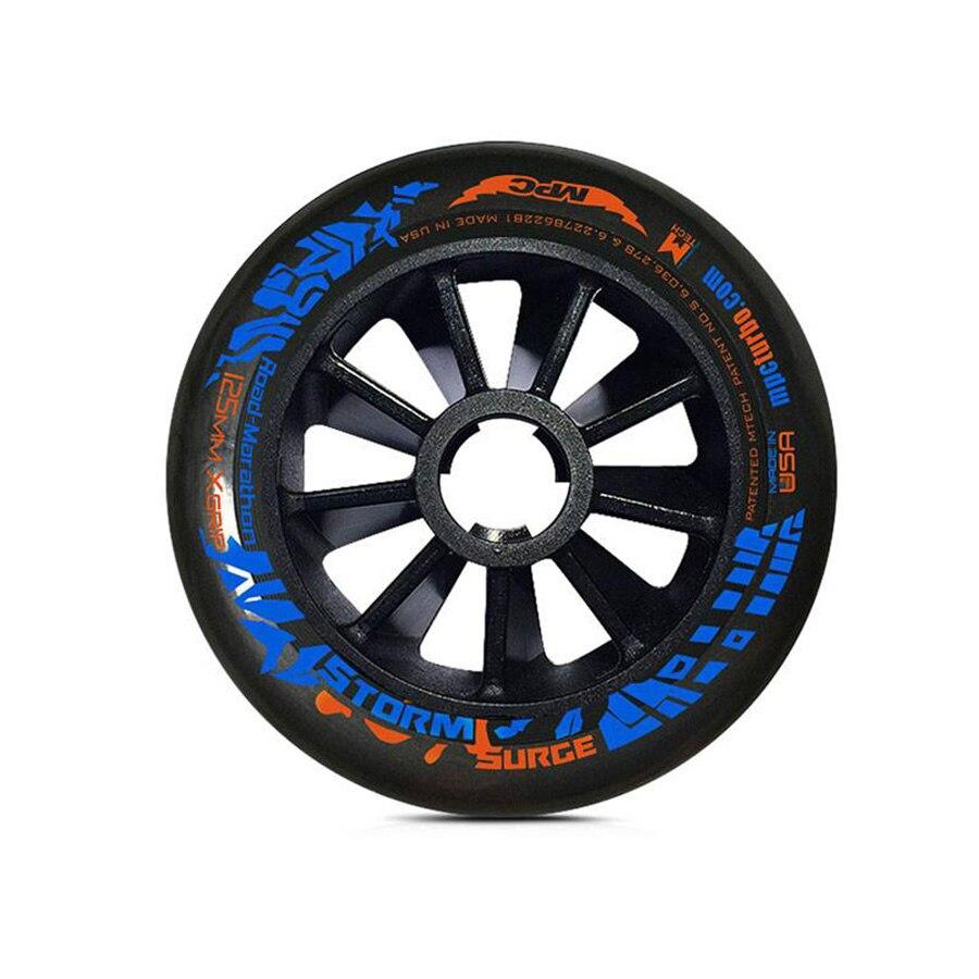 100% Original Bont MPC surtension vitesse Skate roues 87A réactif et Stable professionnel compétition Patines pneus 110/125