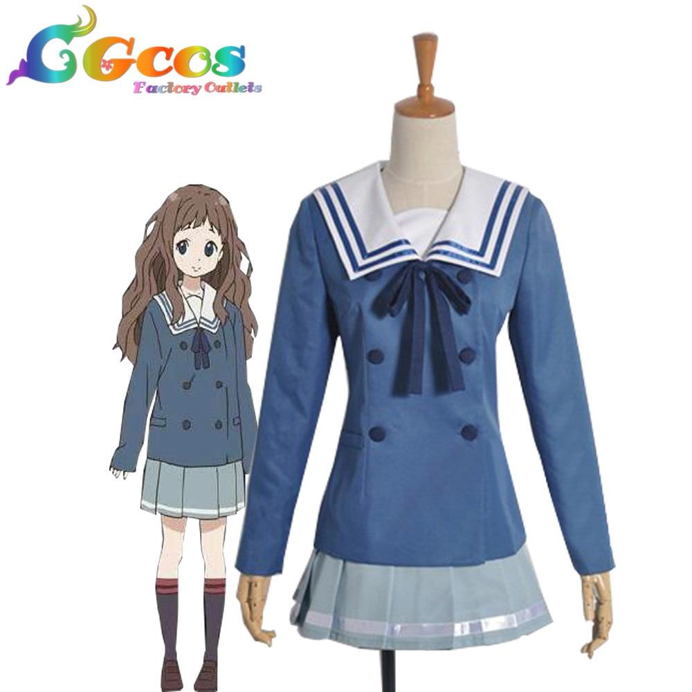CGCOS Free Shipping Cosplay Costume Kyoukai no Kanata ...