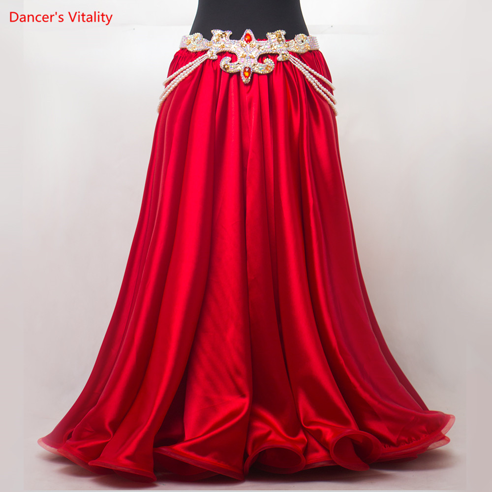 Image 3 - New Sexy Luxury Women Bellydance Suit Oriental Suit Show Stage Belly Dance Wear Skirt Customized FreeBelly Dancing   -