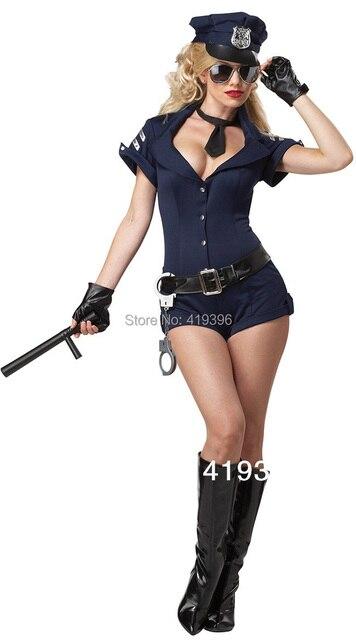 Cl5359 envío gratuito recién llegada Sexy mujer policía Sexy traje ...