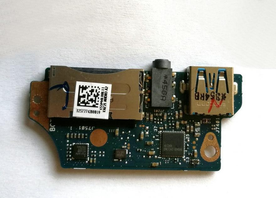 original FOR UX31A 13.3' USB Audio Jack Card Reader Board w/Cable 455M4L88L11 UX31A_AUDIO_BD 60 NIOAU1002 C01 FREE SHIPPING