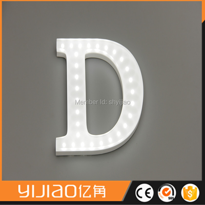 indoor fullit changeable signs with open led letter