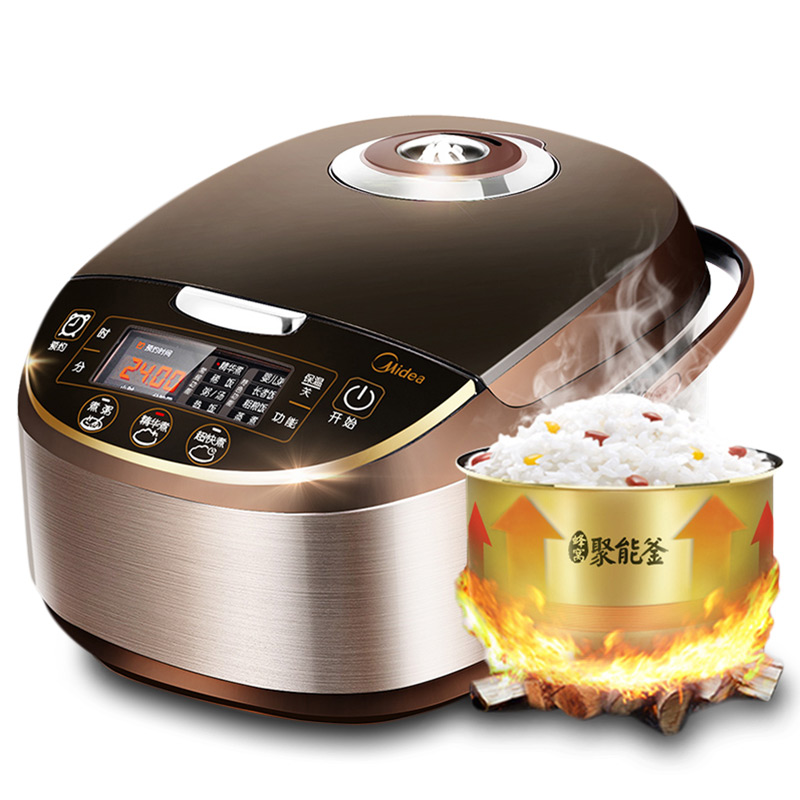 Midea 5L Electric Intelligent Turbo font b Rice b font font b Cooker b font Cooking