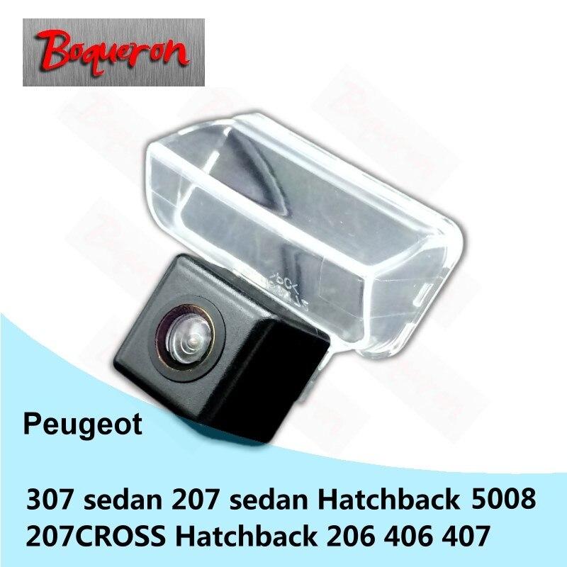 Ambitieus Voor Peugeot 307 207 306 207 Cross 206 406 407 5008 Auto Achteruitrijcamera Hd Ccd Nachtzicht Backup Reverse Parking Camera Winst Klein