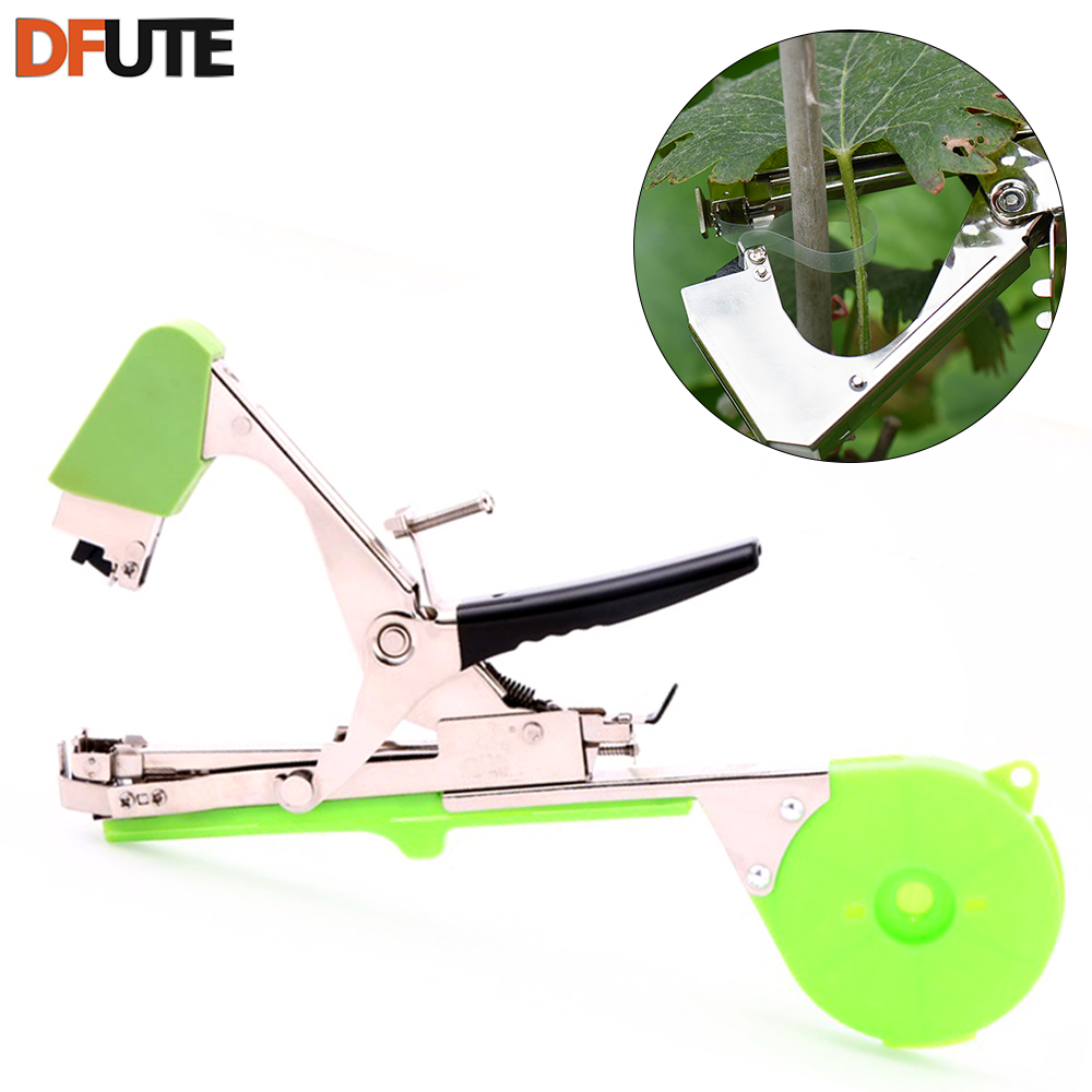 Plant branch hand tying staples tapener tapesbinding for Vegetable garden tools