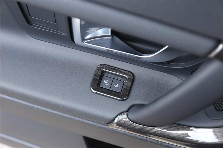 For Land Rover Discovery Sport 2015-2017 ABS Inner Door Lock Button Cover 4pcs