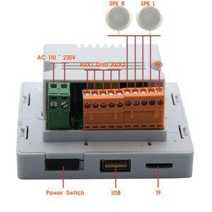 Image 3 - MP5 Player système de musique à domicile, système de haut parleurs de plafond, amplificateur numérique Bluetooth, amplificateur mural intégré avec écran tactile TFT LCD