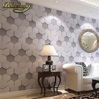 beibehang High Quality luxury realistic PVC vinyl 3d wallpaper roll grey beige bedside sofa tv background wall wallpaper wallcov