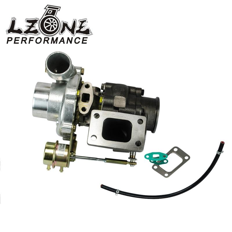 LZONE-turbocompresseur T3/T4 porte à déchets interne refroidi à l'eau A/R:. 60 froid,. 63 chaud t3 bride