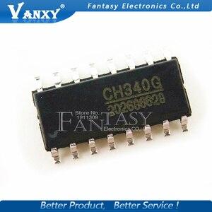 Image 3 - 5 Chiếc CH340G SOP16 340G SOP 16 CH340 SOP Ban Đầu IC R3 Ban Free USB Cáp Nối Tiếp Chip