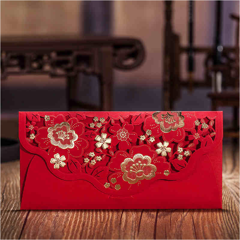 Invitation Card Envelopes for Wedding 4 Styles Wedding Favor Gift Bag ...
