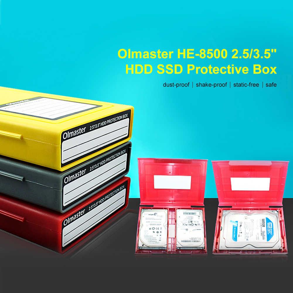 """2019 новейший eva Жесткая Сумка он-8500 2,5/3,5 """"жесткий диск SSD защитный бокс сумка жесткий диск внешний жесткий диск защитная коробка для хранения"""