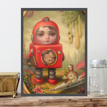 Mark Ryden Princess Sputnik Wall Art Canvas Posters Prints Oil Painting Pictures For Office Bedroom Home Decor Accessories