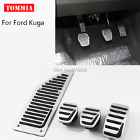 tommia For Ford Kuga 2013 2017 Pedal Cover Fuel Gas Brake Foot Rest Housing No Drilling Car styling