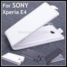 100% Высокое качество Роскошный кожаный чехол для Sony Xperia E4 E 4 флип чехол для XperiaE4 кожаный чехол покрывает случаях