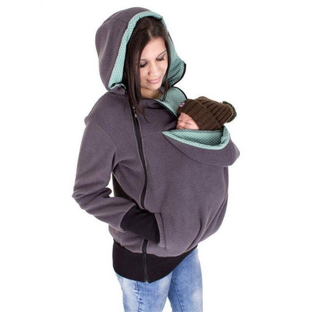 Multifunctional Winter Maternity / Nursing Hoodie
