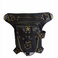 Rock Leather Vintage Gothic Retro Steampunk Handbag Shoulder Bag Coin Purse