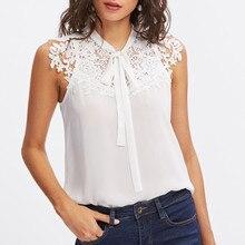 Летняя женская блузка размера плюс, винтажные блузки, женская одежда, уличная одежда, Женские топы и блузки, кружевная шифоновая женская блузка