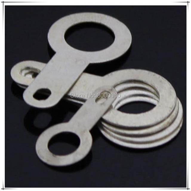US $29 99 |Aliexpress com : Buy 5 2mm Inner DIameter Tin Plated Brass  Washer Gasket Single Head Brass Welding Washer Brass Lugs 500pcs/lot from