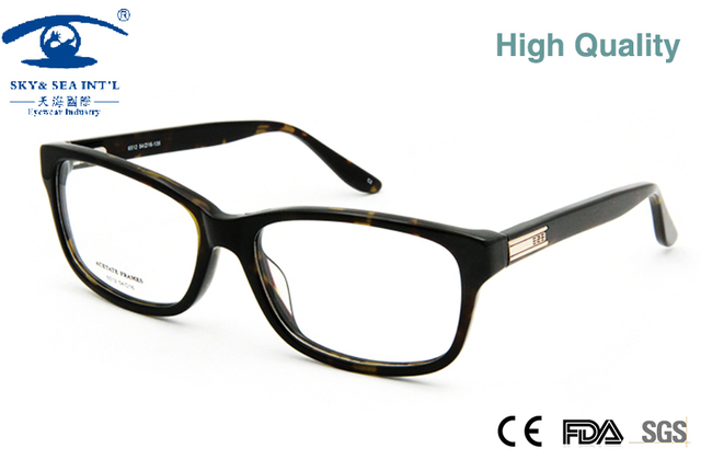 3c0edb11a83a High Quality Mens Eyeglass Frames Prescription Glasses Frames Men in Clear  Lens with Metal Sheet Decoration