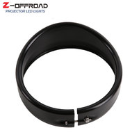 Motorcycle accessories 7Inch LED Headlight Trim Ring 7 LED Headlamp Trim Ring For Softail Road King Electra Glide