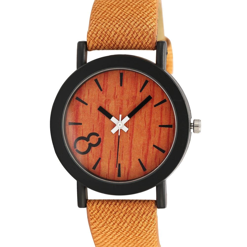 Superior Ženski muški neutralni jednostavan modni kožni kvarcni - Ženske satove - Foto 4