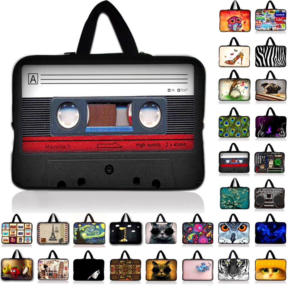 Waterproof Neoprene Laptop Sleeve Tablet Bag Carry Cases Cover Pouch Protector For 7 10 11.6 13.3 14.4 15.4 15.6 17.3 17.4 inch