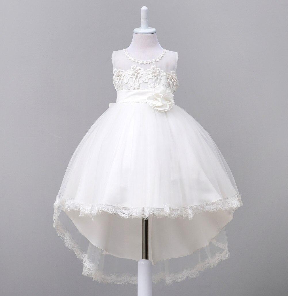 Blumenmädchen Kleider SchöN Prinzessin Mädchen Flauschigen Kinder Kleid Kleine Host Klavier Kostüm Blume Mädchen Weiß Nachgestellte Hochzeit Kleid Mild And Mellow
