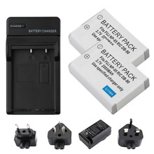 RP 2Pcs NP-95  NP95 Li-ion Battery + LCD Charger For FUJIFILM F30 F31 F30fd F31fd 3D W1 X100T X100S X100 X-S1 3DW1