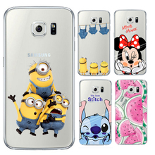 Coque Для iPhone 7 5 5S SE 6 6s Плюс Silicone Case for Samsung Galaxy Grand Prime J3 J5 A3 A5 2016 2017 S5 S6 S7 S8 Края плюс