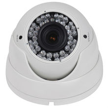 China Top 10 CMOS Night Vision 1200TVL Metal Dome Surveillance CCTV Camera System 2.8-12mm Varifocal Lens