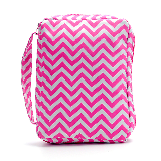 Chevron Bible Cover Wholesale Blanks Zigzag Book Holder Bag Journal Holder  With Zipper and Handle Free Shipping DOM106017 8478a71420d82