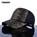 TQMSMY Marca sombreros para las mujeres gorras de béisbol de la tela de la arruga del visera de sol sombrero de las muchachas de malla casquillo de hip hop verano snapback cap mujeres ósea