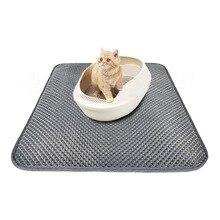 1 шт., подстилка для домашних животных, коврик для кошек, подстилка для домашних животных, подстилка для кошачьих туалетов, слой EVA, двухслойный подстилка для кошачьих туалетов, нескользящая подошва