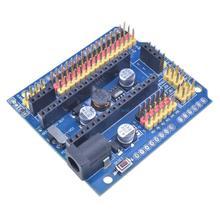 Diymore стандарт Nano V3.0 I/O Плата расширения микро Датчик Щит 5 В Плата модуль для Arduino UNO R3 для Leonardo