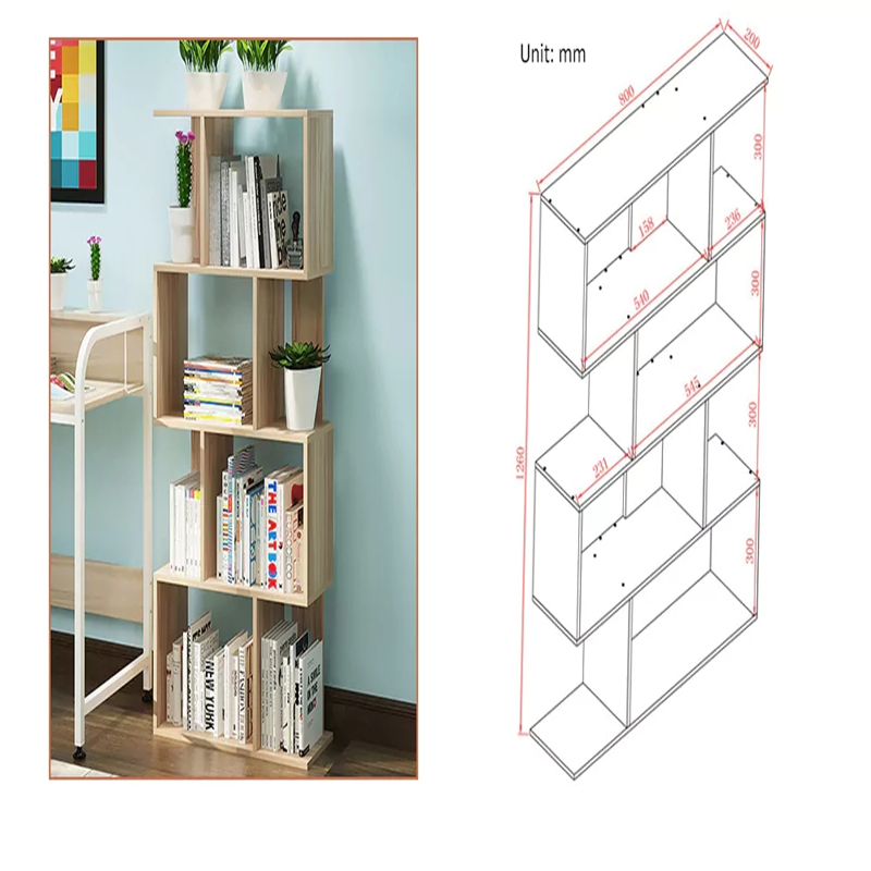Eenvoudige Opbergrek Display Plank Boekenkast Home Decor/Hanger ...
